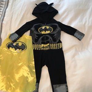 Batman costume 2T